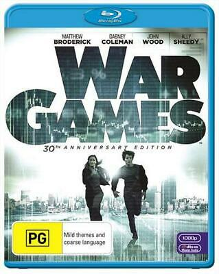 War Games - Blu Ray Region B Free Shipping!