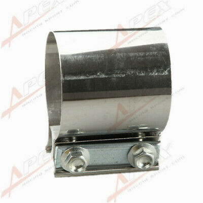 """2.5"""" Stainless steel 2 1/2"""" inch Exhaust Flat Band Clamp  AU"""