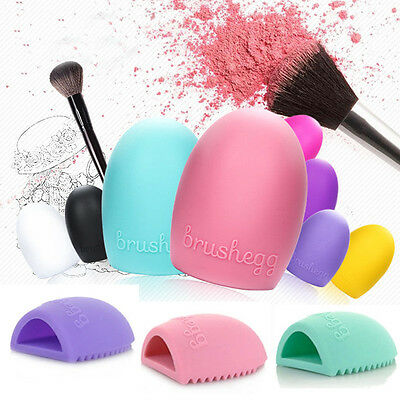Hot Silicone Cleaning Egg Glove for Washing MakeUp Brush Scrubber Board Tools