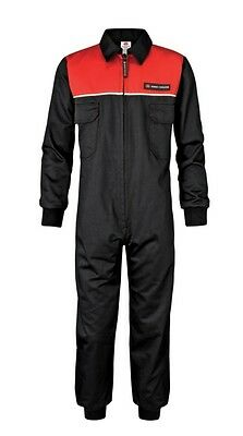 Massey Ferguson Childrens Kids Overalls Black & Red Ages Two To Fifteen   (04)