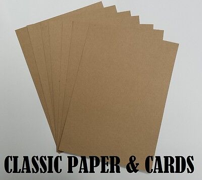 A4 / A5 Quality Eco 100% Recycled Brown 110Gsm Kraft Paper-For Craft/weddings