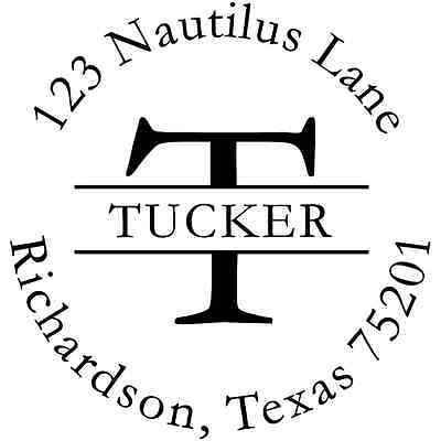 Personalized Return Address Stamp - Ideal 400R - Customized Stamp