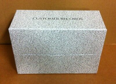 Sunbed client customer record card storage box - Large & Small