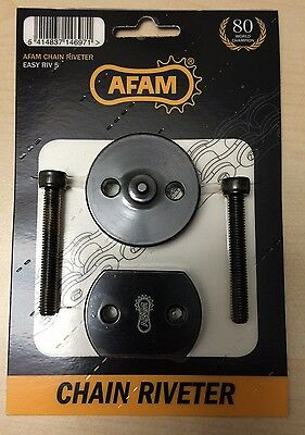 AFAM Easy Riv 5 Riveting Tool for hollow pin, riveter, DID, RK, AFAM chain, new