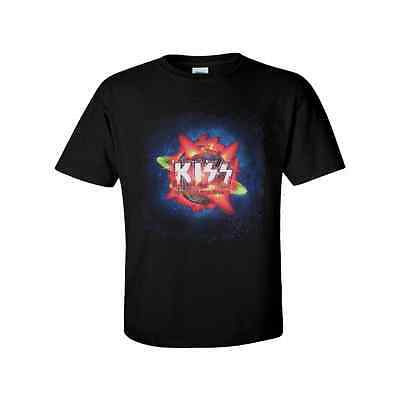 KISS official T-Shirt THE HOTTEST SHOW ON EARTH Rock N Roll Gene Paul Eric Peter