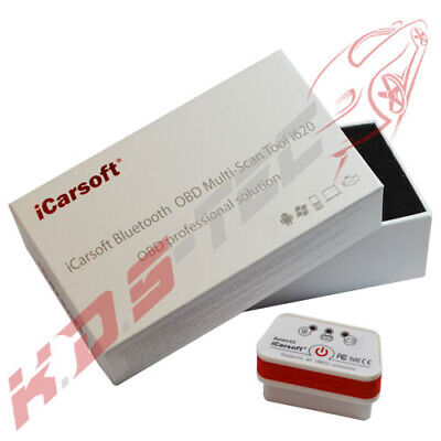 iCarsoft i620 EOBD OBD2 Mini Bluetooth Diagnosegerät IOS Android Motor Getriebe