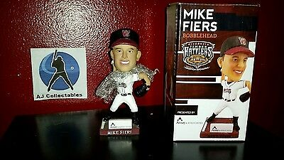 2015 Mike Fiers Wisconsin Timberrattlers Houston Astros! Free Ship