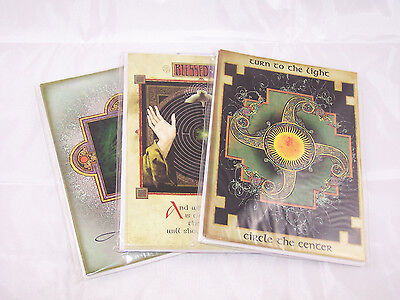 Lot of 18 cards (6 each design) Celtic Blessings Michael Green Greeting Cards