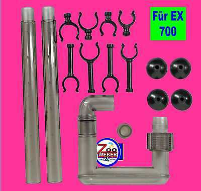Spare part set Exhaust for Tetra Exterior filter EX 700 Tetratec Replacement