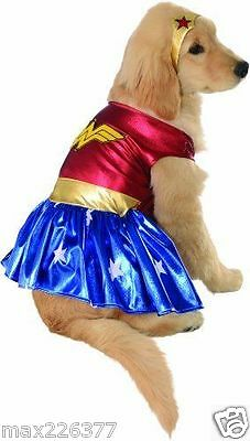 NEW Wonder Woman Rubies DC Heroes Villains Pet dog Costume SUPERHER0  Medium