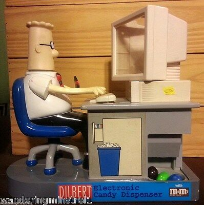 Dilbert Electronic Candy Dispenser M&M Works Great!