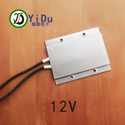 constant temperature ceramic aluminum heater PTC heater with shell 12V 77*62mm