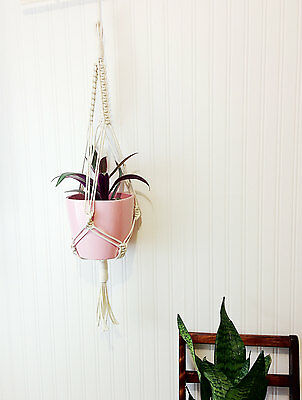 small macrame hanging planter 35""