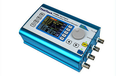2MHz Arbitrary Waveform Dual CH Signal Generator 200MSa/s Frequency Counter