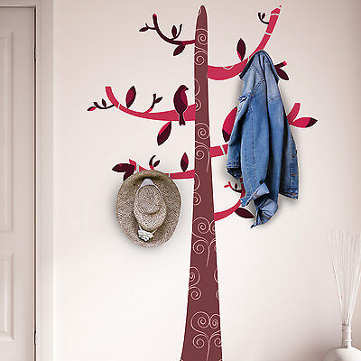 Family Decoration Mural Colourful Tree Pattern Wall Stickers Home 180cm x 116cm