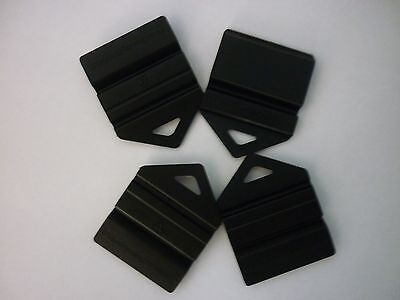 4 L and P Plate Holders Clip It On car number plate Black in colour
