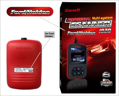 iCarsoft i920 für Ford OBD Diagnosegerät Scanner Motor Getriebe ABS Airbag...