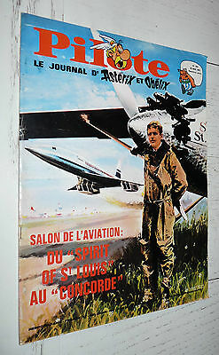 Pilote Eo N°396 25/05 1967 Pilotorama Avions Salon De L'aviation Fred Herphelin