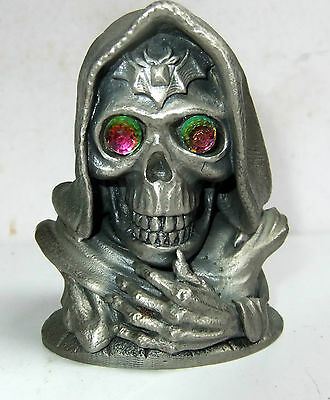 Skull Master Tudor Mint Dark Secrets Pewter Model