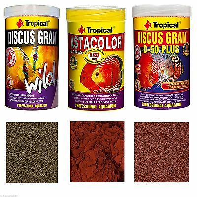 SPECIALIST FISH FOOD FOR DISCUS FISH ( Sealed Genuine Tubs)