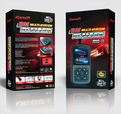 iCarsoft i910-II OBD Diagnosegerät Motor Getriebe ABS Airbag incl. Service Reset