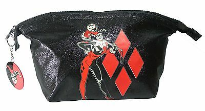 NEW OFFICIAL Dc Comics Harley Quinn WASH / TOILETRY / MAKEUP BAG (Batman)