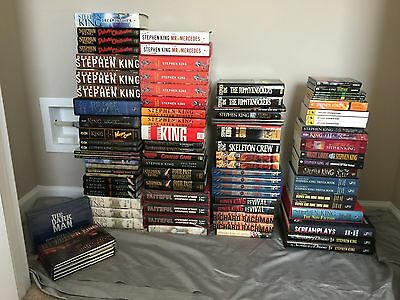 Stephen King (Hardcover and Paperback) Collector's Estate Sale (Lot Sale)