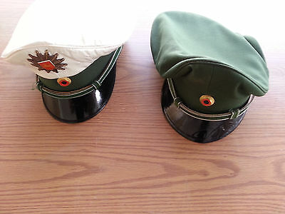 Old Style German Police Hat - Used
