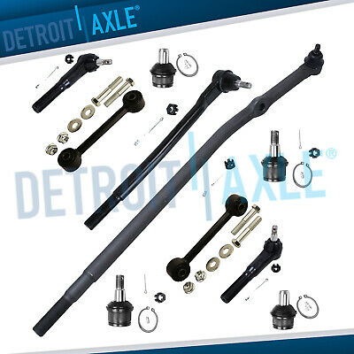 Brand New 10pc Complete Front Suspension Kit Ford Excursion F-250 F-350 SD 2WD