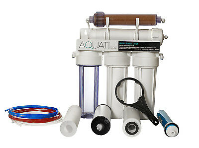 5 Stage RO with DI resin Reverse Osmosis Deionization filter 100GPD