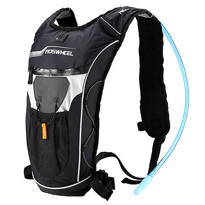 5L Bike Bicycle Hydration Pack Shoulder Backpack with 2L Water Bag Cycle Hiking