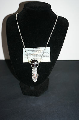 Passion handmade necklace Pendant gemstone crystal unique psychic Love
