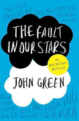 The Fault in Our Stars by John Green Paperback Book Free Shipping!