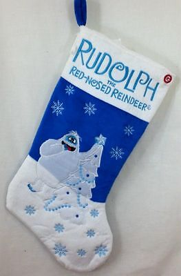 Rudolph The Red Nosed Reindeer Bumble Musical Christmas Stocking NWT