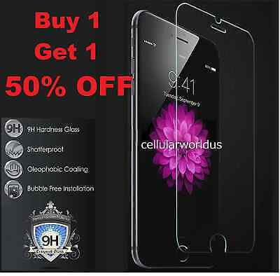 Premium Real Tempered Glass Film Screen Protector for Apple iPhone 6 Plus 5.5""