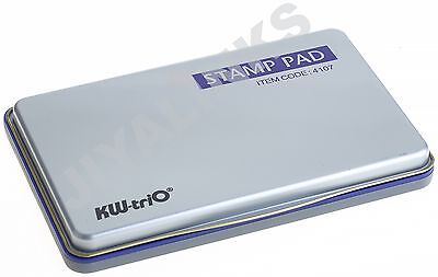 KW-triO LARGE INK STAMP PAD FOR CLASSIC STAMP RANGE 155X115mm -ALL COLOURS