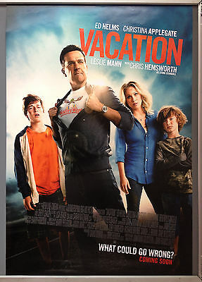 Cinema Poster: VACATION 2015 (One Sheet) Ed Helms Chris Hemsworth Chevy Chase