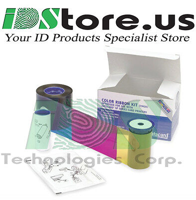 Datacard Full-Color Ribbon YMCKT 534000-002 (Replaces 552854-204)  250 prints
