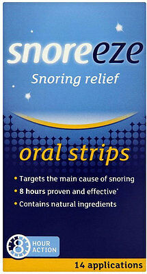 Snoreeze Oral Strips (14)