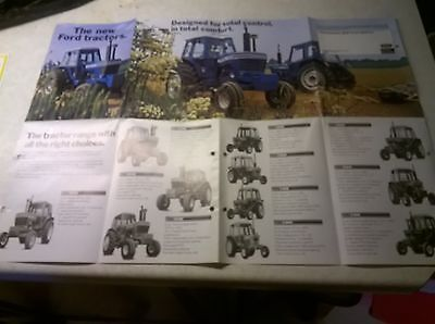 the new ford 600 series 700 series sale brochure