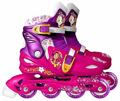 Stamp Mia and Me Adjustable Inline Skates Medium Size 13 - 3 Girls Sports Gift
