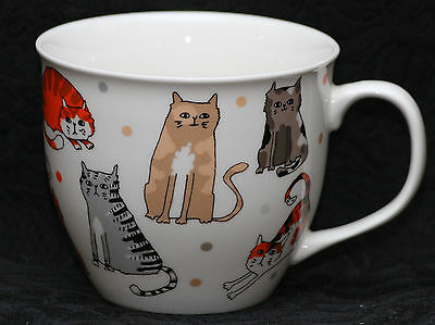 CAMBRIDGE CATS Fine China Large Cup