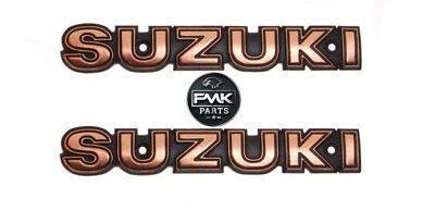 Fuel Tank Emblem Badge Decal PAIR for Suzuki GN 125 GN125