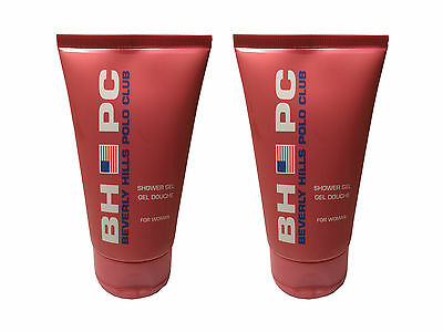 Beverly Hills Polo Club Sport Shower Gel for Her 150ml x2