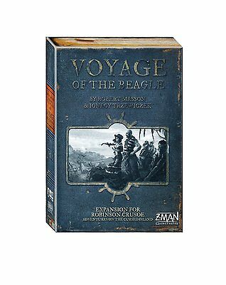 ROBINSON CRUSOE Voyage Of The Beagle Board Game Expansion ENGLISH OVP Z-Man
