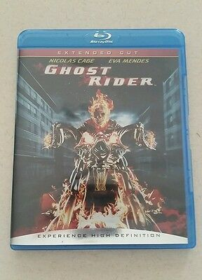 Ghost Rider (Blu-ray Disc, 2007, Extended Cut)