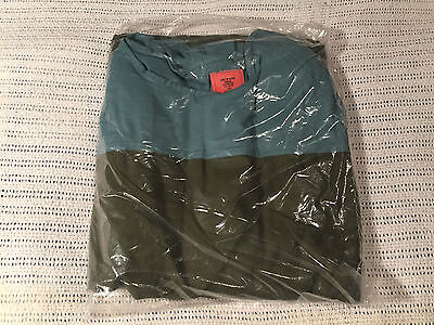 Green Surgical Operating Gown Size Large 100% Cotton NEW!!