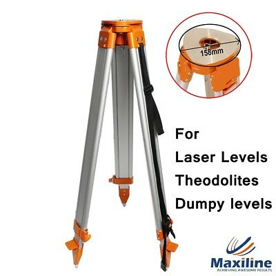 Aluminium Tripod for Laser level Dumpy Level Theodolites Big Flat Head ST-158