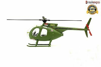 Hughes OH-6A Cayuse 1972 Military Helicopter Diecast Army Model New 1/72 No 47