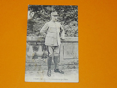 Rare Cpa Carte Postale Italienne 1919 Guerre 14-18 General Petain